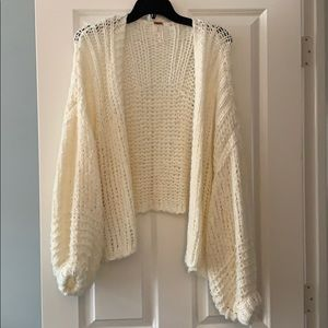 Free People size small cardigan